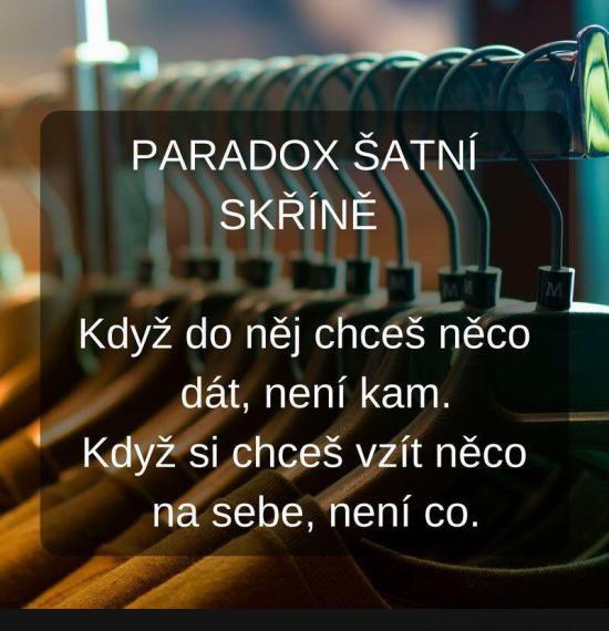 Paradox...   torpeda.cz - vtipné obrázky, vtipy a videa