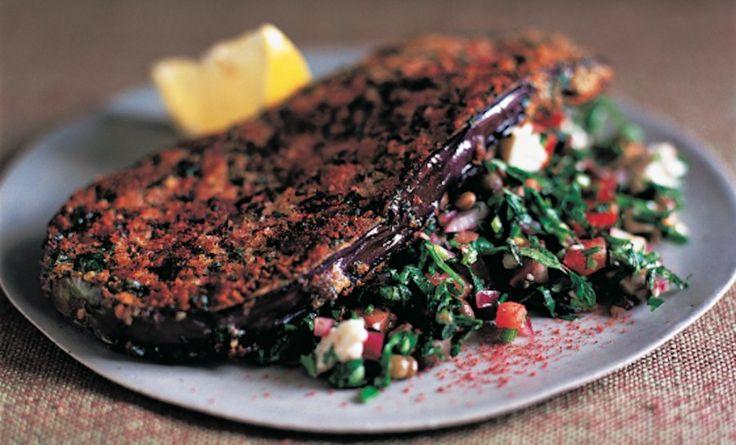 Sumac-Spiced Eggplant Schnitzel Recipe | Food Republic