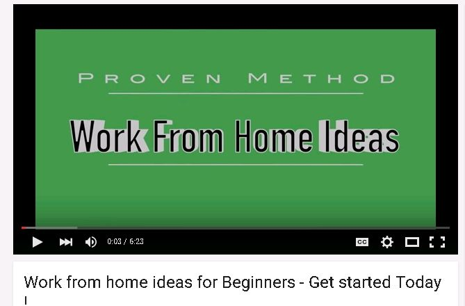 There are some awesome work from home ideas and that last one was badass.