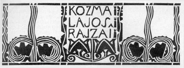Kozma Lajos rajzai, M�v�szet, 1908