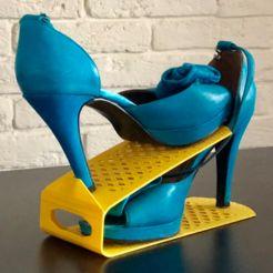 Shoes optimizer rack   • Download on cults3d.com • #3Dprinting #3Dprint #3Ddesign #STLmodel #STL file #3Dmodel #3Dprinter #Impression3D #Imprimante3D #Fichier3D #Design #3Dmodeling #3D #impresora3D #impresion3D #3Dmodelo