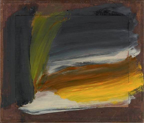 Yellow Sky, 2009-2010 Howard Hodgkin