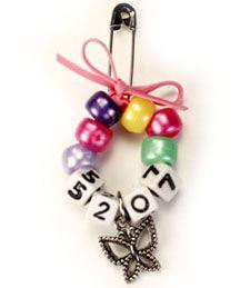 Girl Scout Troop Number Ring Swaps - Makes 36 pins