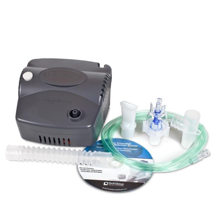 DeVilbiss PulmoNeb® LT Compressor Nebulizer System ...