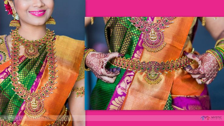 Gorgeous Gold Jewellery Bridal Design | Get Inspired