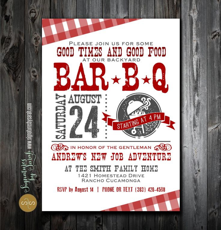 invitation wording for networking event%0A Don u    t forget to send out the invitations to attend your backyard BBQ