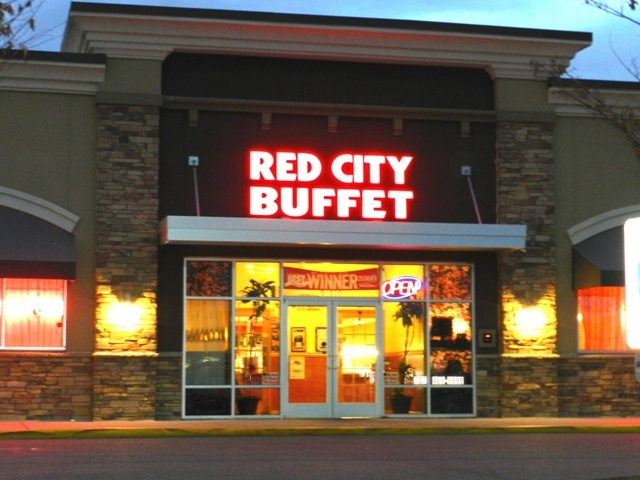 Red City Buffet, Newport News, VA. Very good Asian buffet. http://www.newport-news.org/restaurants-print.php