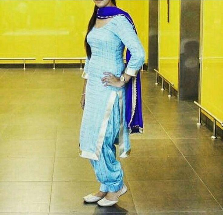 Punjabi suit. ❤❤❤ Pinterest:@reetk516