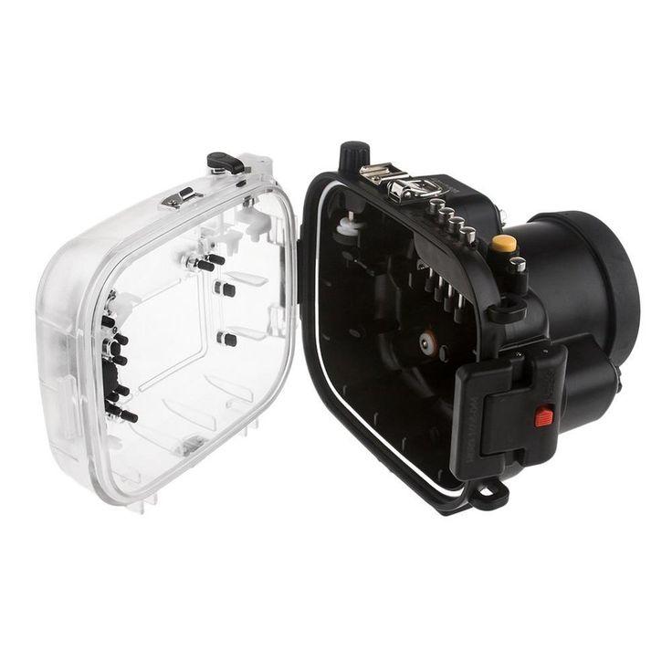 Meikon 40M Waterproof Underwater Camera Housing Case for Canon EOS 80D. #Meikon #Waterproof #Underwater #Camera #Housing #Case #Canon