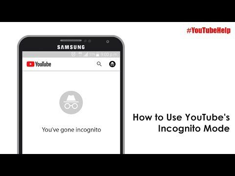 How To Use Youtube S Incognito Mode Youtubehelp Youtube In 2020 Youtube Incognito Being Used