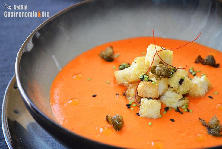 Bisque De Pimientos Del Piquillo | Gastronomía & Cía