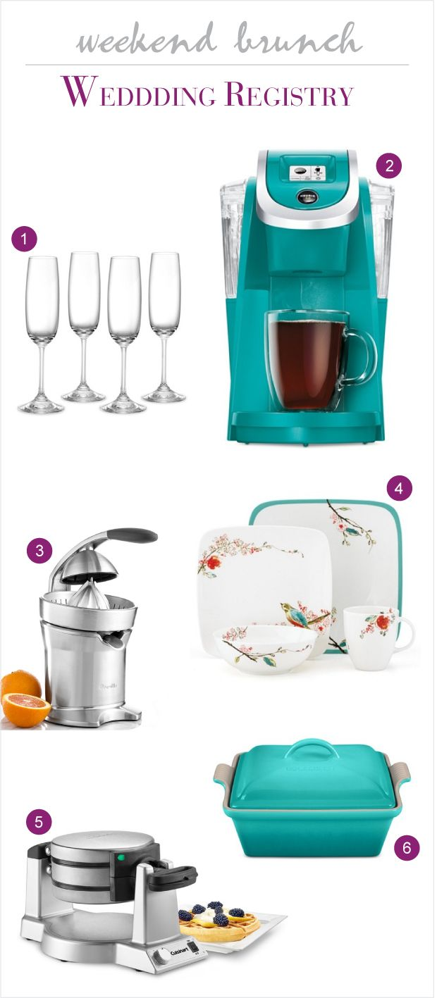 Entertaining Essentials For Your Bridal Registry With Macy's