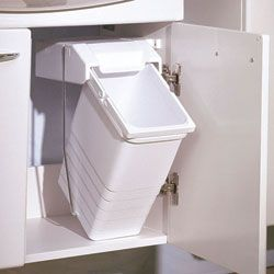 17 Best Images About Under The Sink Trash Can On Pinterest
