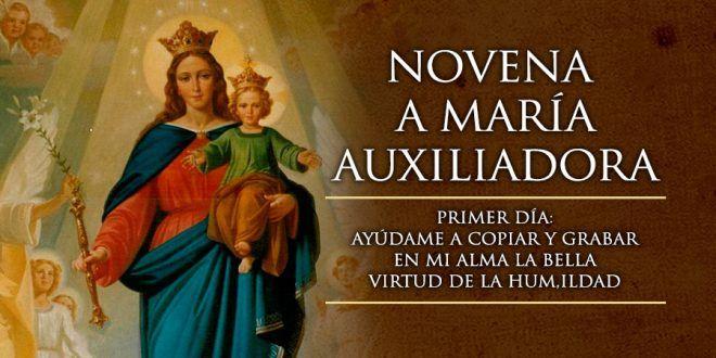Primer Día de la Novena a María Auxiliadora – Los Santos Catolicos