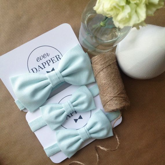 Pastel blue bow tie  Mens pastel blue bow tie  by everDapper