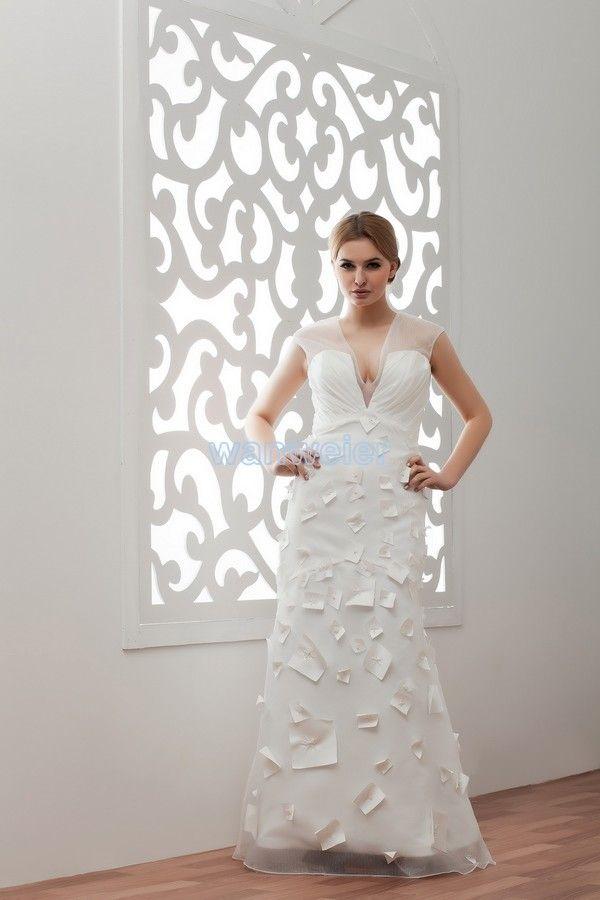 112 besten v-neck weddingdress Bilder auf Pinterest ...