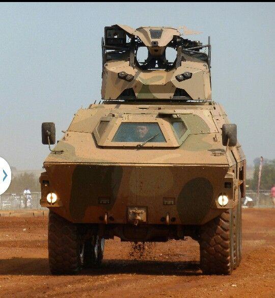 Ratel artillery spotter