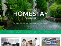 Among many accommodation options in Australia, staying at Homestay Melbourne's homestay Australia is the most relaxing and comforting one. Typical homestays will allow you to http://homestaymelbourne.net.au/ stay with host families. But Homestay Melbourne is a rooming house where different rooms are available for different guests at http://homestaymelbourne.net.au/