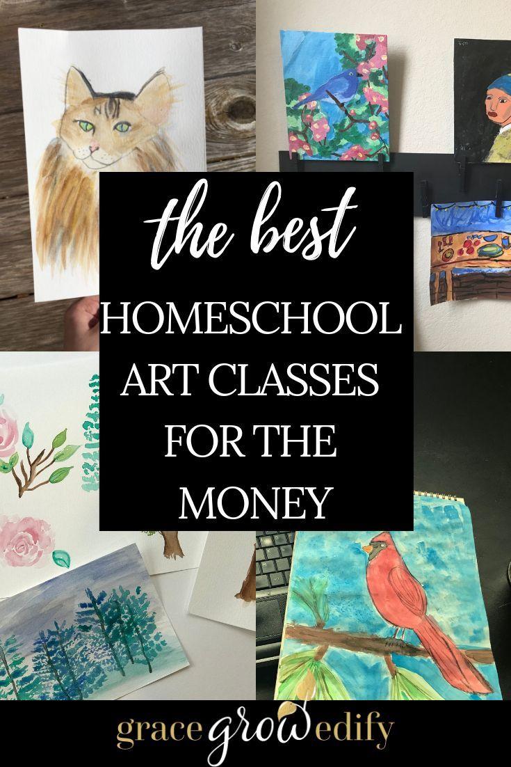 The Best Homeschool Art Curriculum for the Money | Homeschool art ...