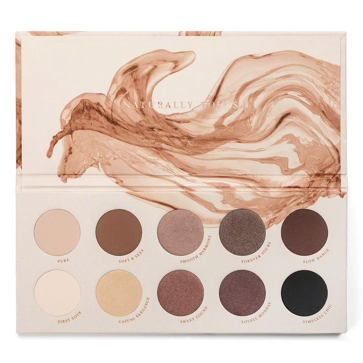 20g Zoeva Naturally Yours Eyeshadow Palette CC (Palmöl)
