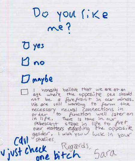 Funny & Embarrassing Love Letters