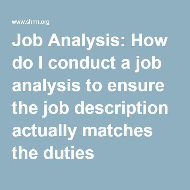 25+ Best Job Analysis Ideas On Pinterest | Swot Analysis, Ch2 News