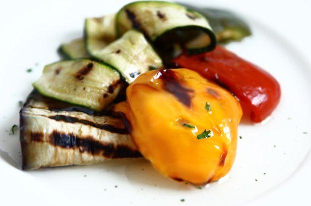 verdure marinate in padella