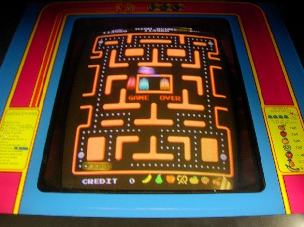 Vintage arcade games for sale by Arcade Specialties http://www.arcadespecialties.com/arcadegamesforsale/MS-PACMAN-UR-arcade-game-for-sale.html