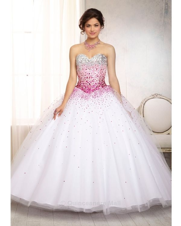 1000 Images About Fuschia Quinceanera Dresses On Pinterest