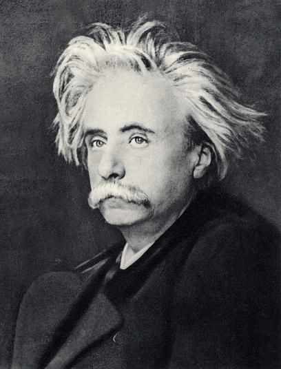 Edvard Grieg (1843-1907) was a Norwegian composer whose musical inspiration came from the folk music and folk stories of his homeland. He wrote a range of musical forms, but concentrated primarily on piano compositions. His most popular music was written as incidental music for the play Peer Gynt.