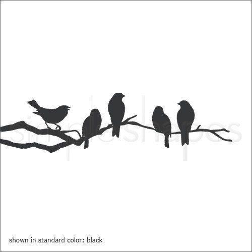 Best 25+ Bird on branch ideas on Pinterest | Two birds ...