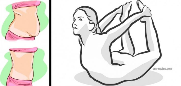 4 Απλές στάσεις Γιόγκα που θα κάνουν το Στομάχι σας Επίπεδο σε Χρόνο Μηδέν!