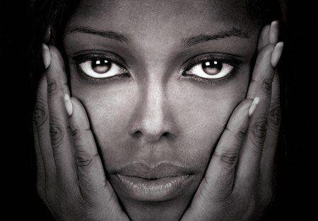 Fototapeta na ścianę - Beautiful Black - 366x254 cm - KOBIETY - LUDZIE - FOTOTAPETY