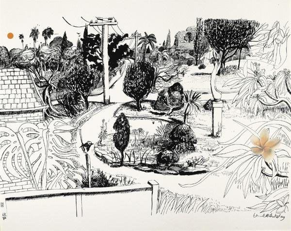 Brett Whitely Lindfield Gardens.jpg 600×475 pixels