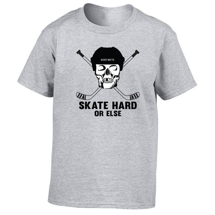 Skate Hard Youth Hockey Shirt