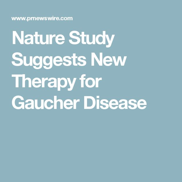 Nature Study Suggests New Therapy for Gaucher Disease