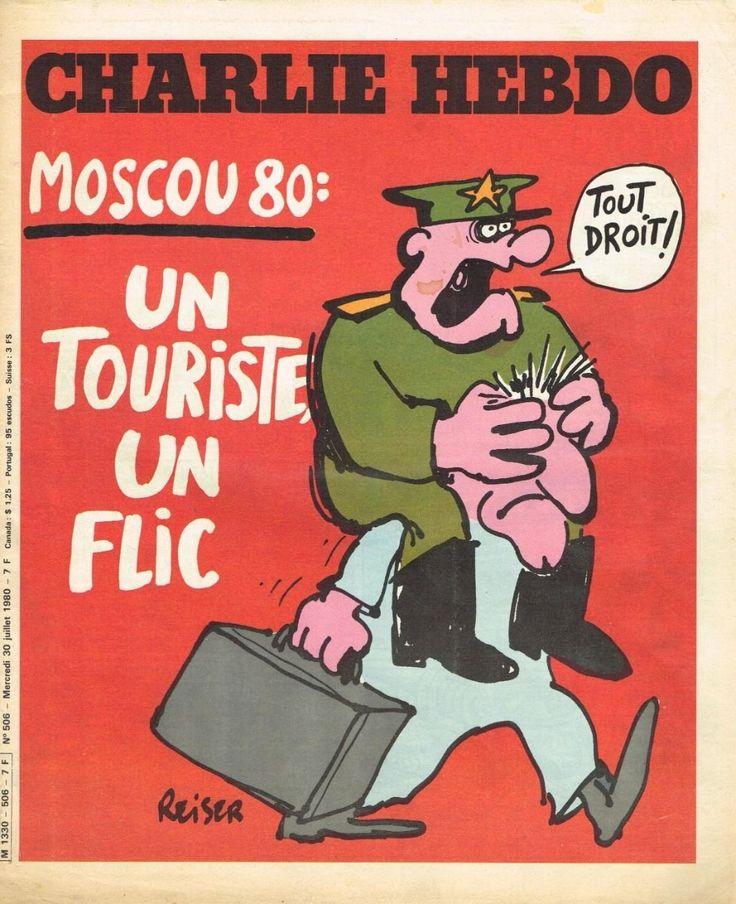 Charlie Hebdo - # 506 - 23 Juillet 1980 - Couverture : Reiser