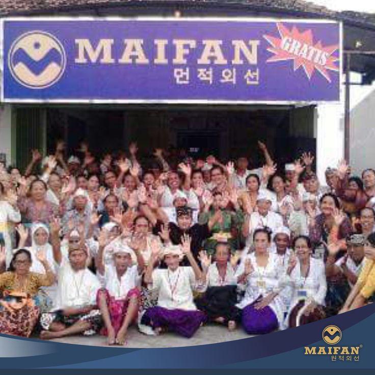 Maifan Center Seririt Lebih Sehat Dengan Maifan - Dengan Maifan Indonesia Lebih Sehat 🎆 #maifan #maifanindonesia #kesehatan #medis #jakarta #surakarta #bali #alam #alamiah #korea