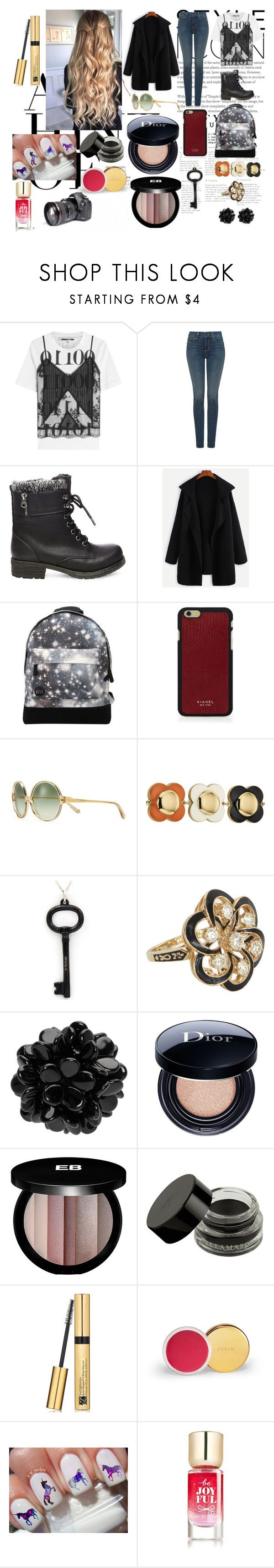 """Benefit."" by it-srabina ❤ liked on Polyvore featuring McQ by Alexander McQueen, NYDJ, Steve Madden, Mi-Pac, Vianel, Tory Burch, Orla Kiely, Tiffany & Co., Vintage and Simone Rocha"