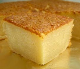 """HAWAIIAN DESSERT :: Ono Butter Mochi  -=- """"This Easy Hawaiian local-style treat is made with coconut & butter in rice flour base >> Great for Tropical Theme Parties !! :)"""