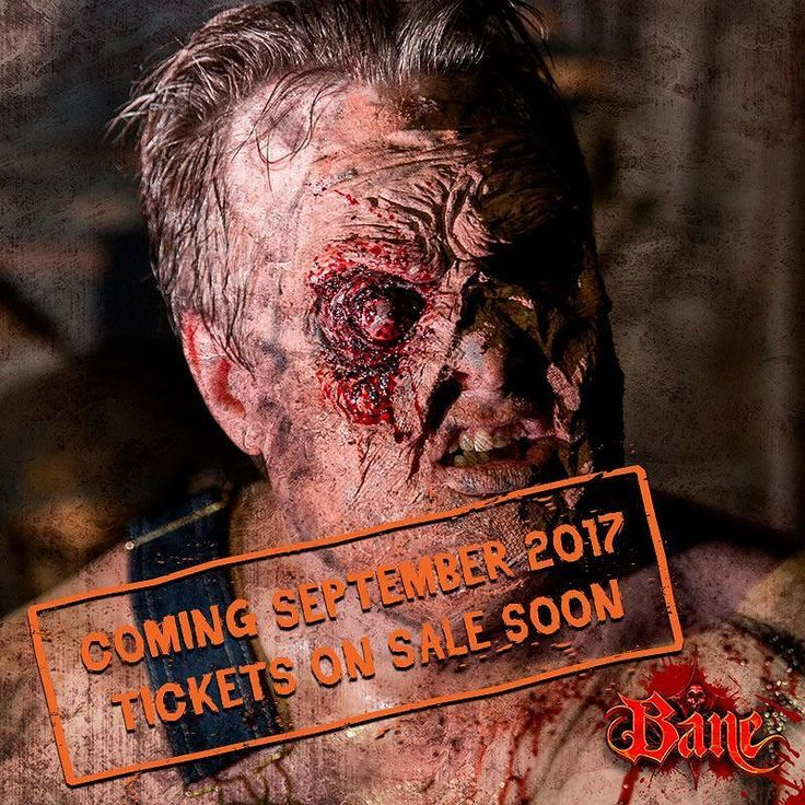 Bane Haunted House features over 40000 square feet of pure terror. Ghosts ghouls and monsters roam through our blood stained halls. Come to Bane this Halloweenseason to live out your scariest nightmares.  Click the link in our bio for more info!  #bane #halloween #halloween2017 #huntedhouse #ghost #blood #nightmare #nj