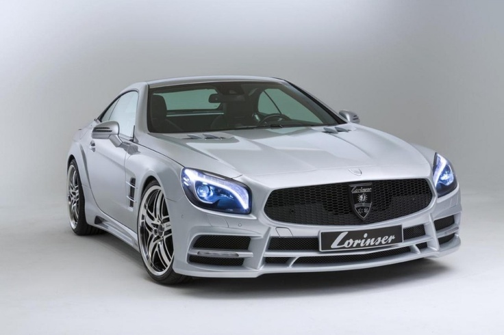 2013 Mercedes SL500 beautifully refined by Lorinser
