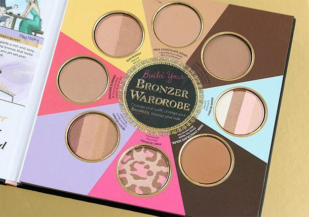 The Little Black Book of Bronzers de Too Faced.... Pour un joli hâle toute l'année ! #TheBeautyHours