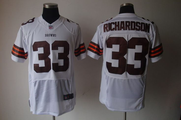 $25.00   $25.00    Nike NFL Jerseys Cleveland Browns Trent Richardson #33 White