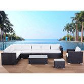 Found it at Wayfair Supply - XXL Sectional 7 Piece Lounge Seating Group with Cushions