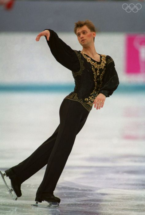 Viktor Petrenko ~ 1992 Olympic Gold Medalist in Men's Figure Skating