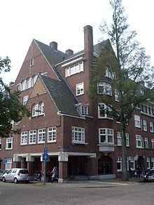 Gerrit Jan Rutgers, Minervalaan/Gerrit vd Veenlaan, Amsterdam 1928-1929