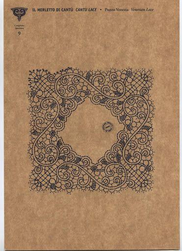 Merletto di Cantù - Punto Venezia - Blancaflor1 - Picasa Web Album