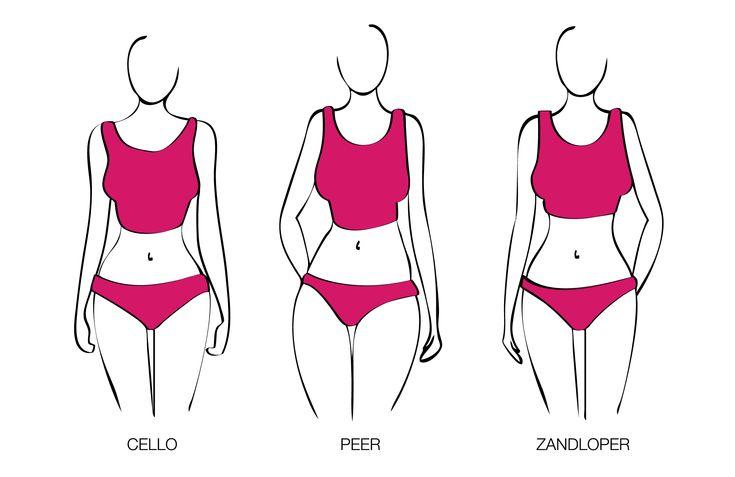 Cello, Peer, Zandloper? Klik de link om erachter te komen wat voor lichaamsvorm jij hebt! http://www.dressesonly.nl/blog/lichaamsvormen-trinny-susannah #dressesonly #advies #lichaamsvorm