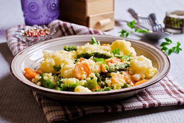 Карельские вести Теплый салат из цветной капусты Еда
